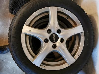 Alu kola 16' vč. zimní pneu Kleber, sada 4 ks, ŠKODA OCTAVIA III