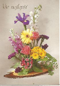 kytice ikebana, foto dpv, Vše nejlepší (Německo) 4-2951++