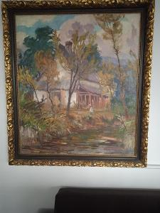 Obraz František Myslivec , 85x98cm, olej/plátno 1932