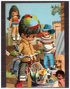 pohlednice- dětské-Milano-Itálie
