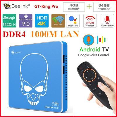 4K TV BOX BEELINK GT-KING PRO S922X-H 4/64GB DTS Atmos Duální systém