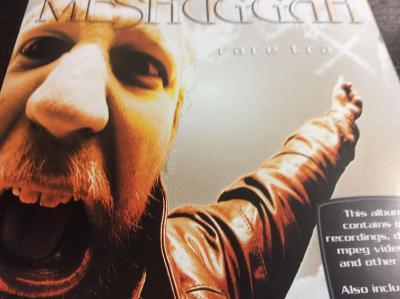 MESHUGGAH: RARE TRAX, NUCLEAR BLAST 2001, KOMPILACE, TOP STAV !!!