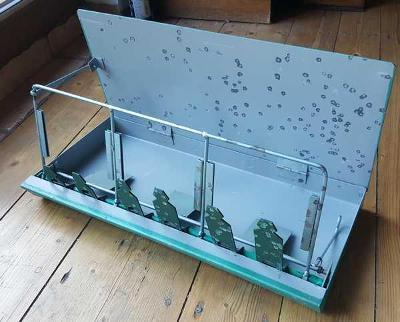 Prodám-vyměním kufříkovou střelnici - luxusní stav pro sběratele
