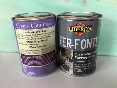 Kovářská čerň Liberon - grafitová pasta