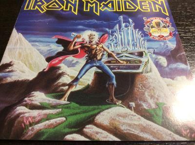 IRON MAIDEN: RUNNING FREE, RUN TO THE HILLS, LTD.SÉRIE 1990, MAXISINGL
