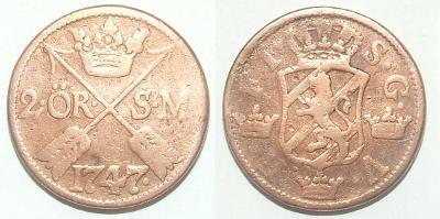 Švédsko 2 O 1747