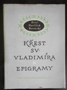 Karel Havlíček Borovský: Křest Sv. Vladimíra, Epigramy