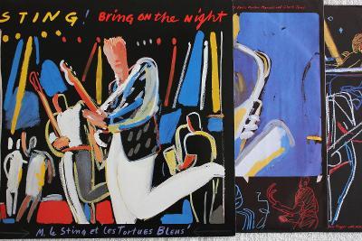 Sting – Bring On The Night 2xLP 1986 vinyl D 1.press jako nove NM