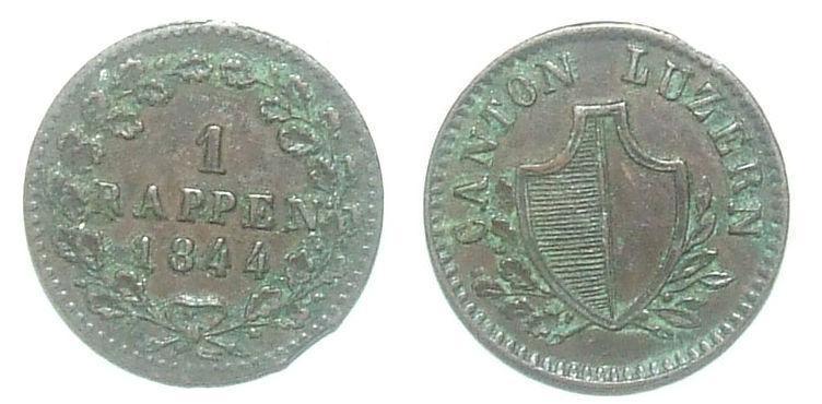 Švýcarsko 1 R - Numismatika