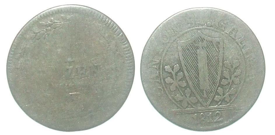 Švýcarsko 1 B - Numismatika