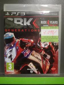 SBK Generations (PS3) - NOVÁ !!!