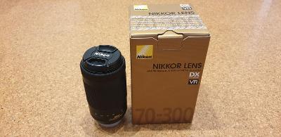 Telezoom - Objektiv NIKKOR 70-300 mm f/4,5-6,3G ED VR AF-P DX
