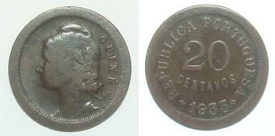 Guinea 20 C 1933