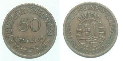 Guinea 50 C 1946