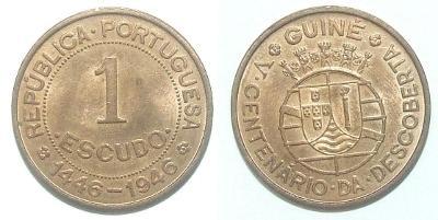 Guinea 1 E 1946