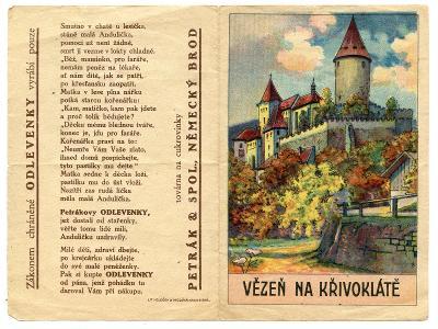 Havlíčkův Brod-Německý Brod-cukrovinky Petrák-1.rep.-reklamní pohádka