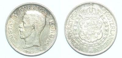 Švédsko 1 K 1934