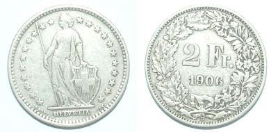 Švýcarsko 2 F 1906