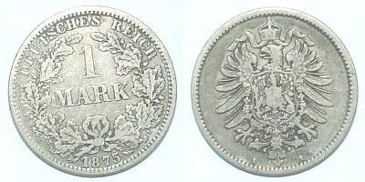 Německo 1 M 1875