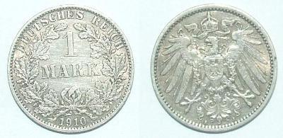 Německo 1 M 1910