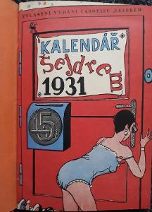 Kalendář Šejdrem - Bohuš Arnold 3 ročníky