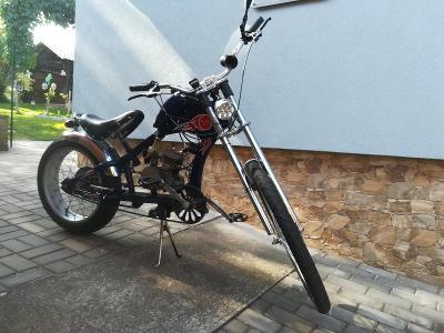 Sunway chopper - kolo s pomocným motorkem
