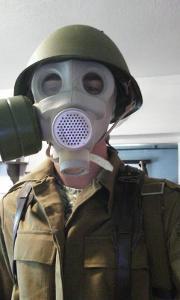 Sovětská Plynová Maska PMG1