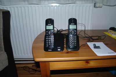 Domácí bezdrátový telefon Philips CD 170 - 175