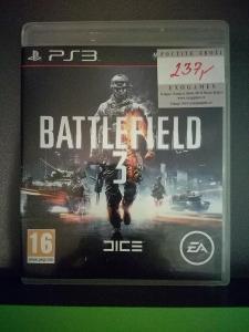 Battlefield 3 CZ (PS3) - kompletní, jako nová