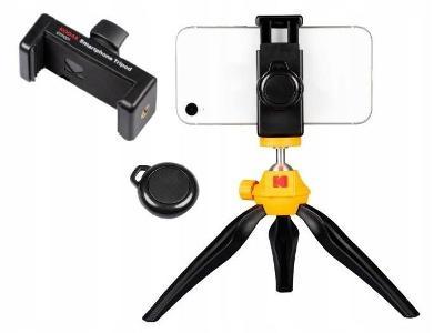 Mini stativ Kodak pro fotoaparát,  telefonu + dálkový + držák