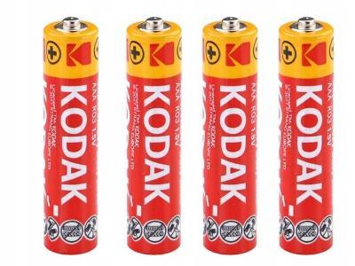 4 x baterie KODAK R03 R3 AAA 1,5V