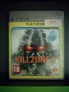 Killzone 3 CZ (PS3 - Move) - kompletní, jako nová