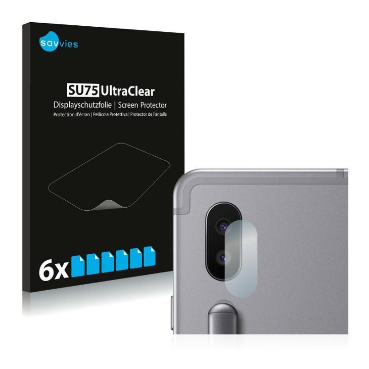 6x Ochranná fólie - Samsung Galaxy Tab S6 (Kamera) - Ochranné fólie