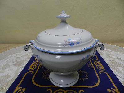 Krásná stará porcelánová Terina mísa Loket 1850