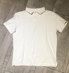Polo tričko bílé vel.M