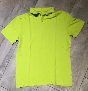 Polo tričko zelené vel.M
