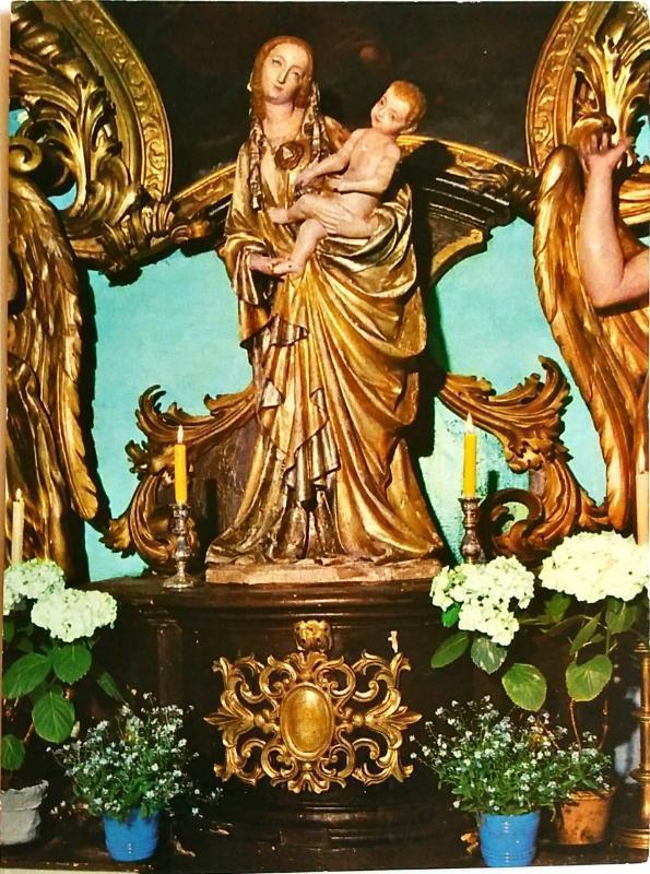 Třeboň Madonna Z Kostela sv Jiljí  - Pohlednice