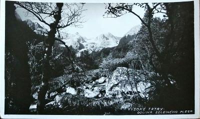 Vysoké Tatry Dolina Zeleného Pleso