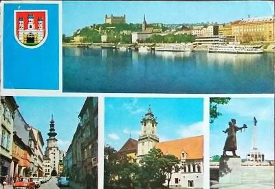 Bratislava Panorama Města