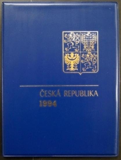 ČR - ROČNÍKOVÉ ALBUM 1994 - RAZÍTKOVANÉ ZNÁMKY, BEZ ČERNOTISKU (S1188) - Filatelie