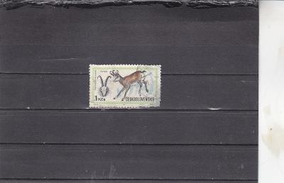 ČSR č.1905 Kamzík ražená známka