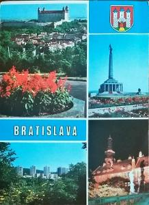 Bratislava Hrad Slavín Kramáre