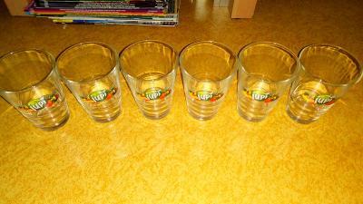 6 ks 0,2l skleniček Jupí