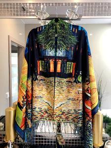 Velká nová šála/šátek na jaro/podzim (50% kašmir) Cashmere