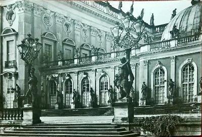 Německo Potsdam Sanssouci Palác