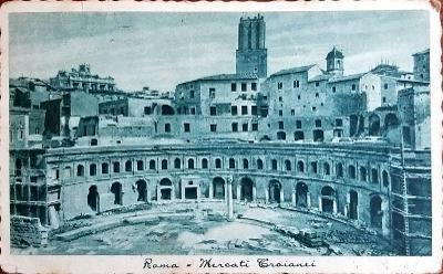 Itálie Roma Řím 1938