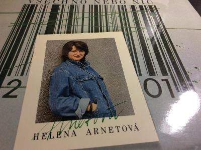 HELENA ARNETOVÁ: VŠECHNO NEBO NIC, PANTON 1988, TOP STAV, OD KORUNKY !