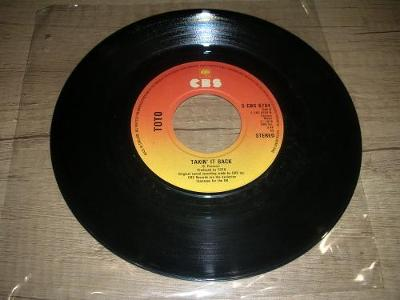 Toto – Hold The Line  (78) SP ,1.Press ,UK