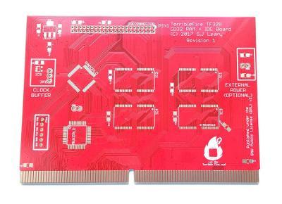 TerribleFire TF 328 (RAM+IDE) pro Amigu CD32 - jen PCB