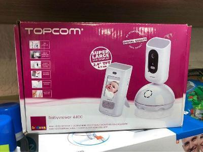 nové Topcom digitální videochůvička  BabyViewer 4400 Bílá